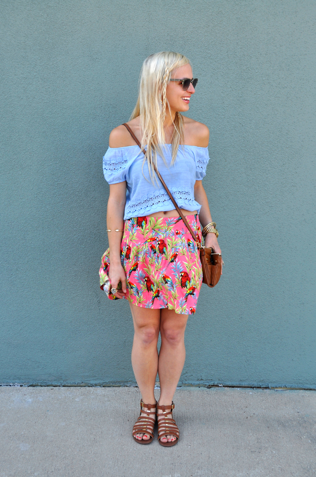 parrot-skirt-colorful-casual-blog-blogger-vandi-fair-lauren-vandiver