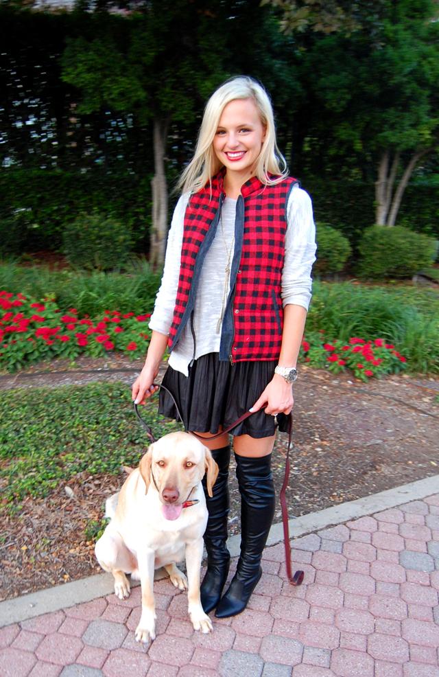 pitbull-awareness-puppy-milk-and-honey-boutique-plaid-vest-blog-vandi-fair-lauren-vandiver
