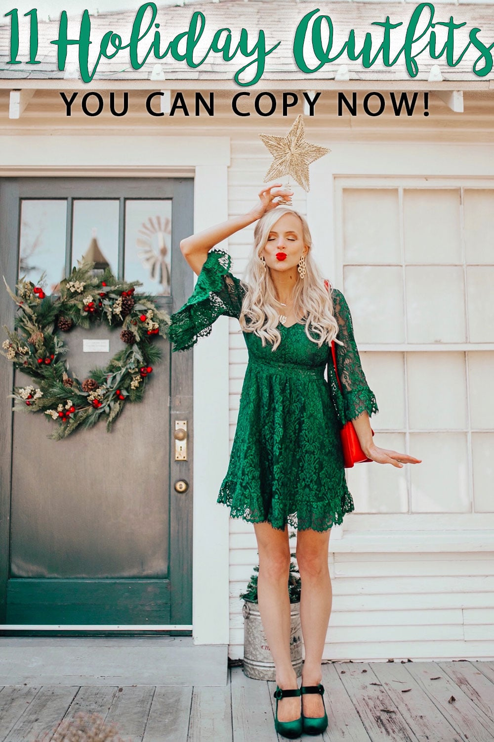 Holiday Outfit Ideas 11 Christmas And Nye Outfits You Can Copy Now